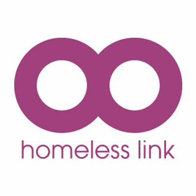 Homeless link logo.