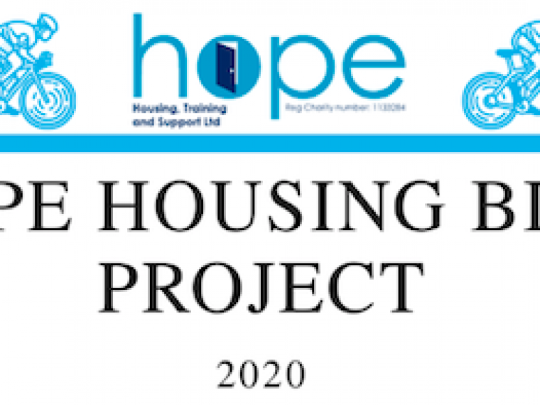 Hope Housing Bike Project